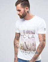 Crosshatch Photoprint T-shirt
