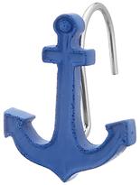 John Lewis Anchor Shower Hooks, Pack of 12