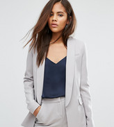 Asos Tall Premium Tailored Edge To Edge Blazer