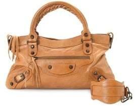 Balenciaga Vintage Chevre First Leather Top Handle Bag