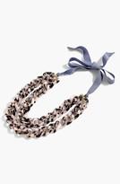 J.Crew Women's Double Strand Lucite Chain Necklace