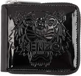 Kenzo Black Square Logo Wallet