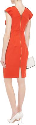 Roland Mouret Stretch-cotton Twill Dress