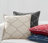 Pottery Barn Tile Embroidered Pillow Cover