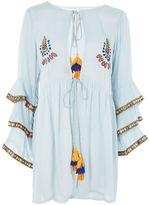 Glamorous **Embroidered Flared Tunic