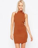 Glamorous High Neck Pencil Dress