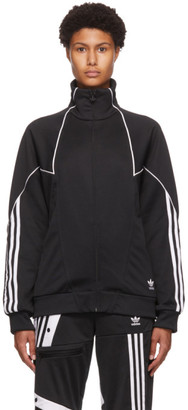 adidas Black Trefoil Abstract Track Jacket