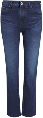 AG Jeans The Mari High Rise Slim Straight Leg Jeans, Valiant