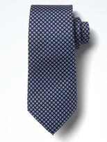 Banana Republic Geo Dots Silk Nanotex Tie