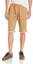 Southpole Men's Jogger Shorts in French Terry Basic Marled
