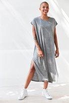 Silence & Noise Silence + Noise Side-Slit Muscle Tee Maxi Dress