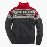 J.Crew Lambswool Nordic turtleneck sweater