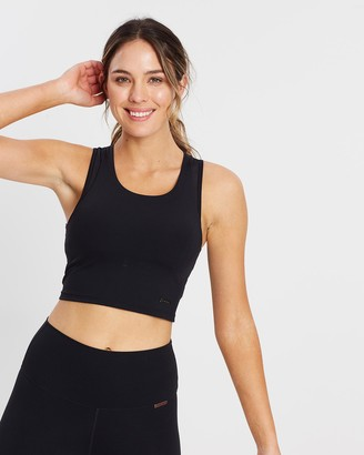 MOVEMAMI - Women's Black Sports Bras & Crops - Balmoral Sports Bra - Size One Size, XS at The Iconic