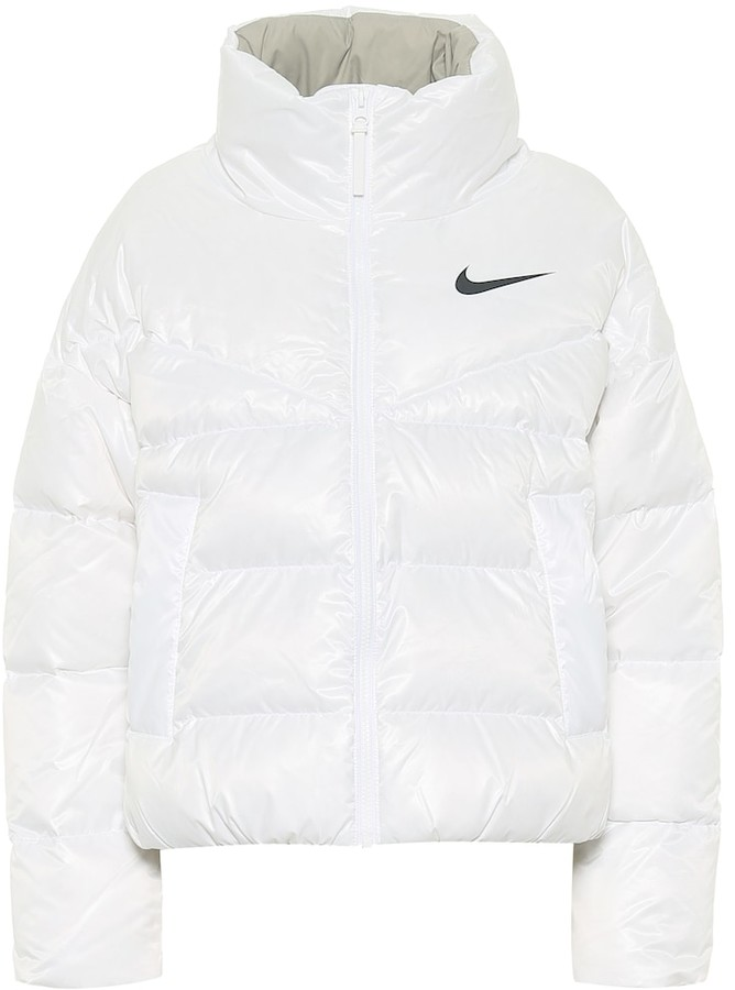 Nike Quilted down jacket - ShopStyle