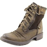Earth Summit Round Toe Leather Boot.