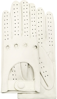 Forzieri Women's Perforated Italian Leather Driving Gloves