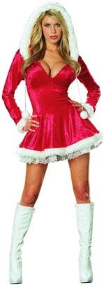 Dreamgirl Women's Sleigh Belle Velvet Dress