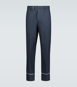 Officine Generale Lucio cotton pajama pants