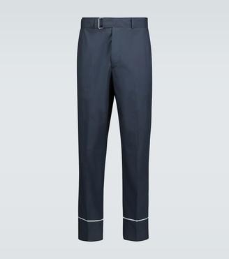 Officine Gã©Nã©Rale Lucio cotton pajama pants