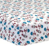 Trend Lab Dr. Seuss Cat & Things Crib Sheet by