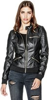 G by Guess Charlene Faux-Leather Jacket