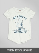 Junk Food Clothing Toddler Girls Be Kind To Animals Tee-sugar-4t