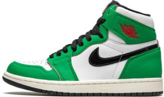 Jordan Air 1 Retro High OG WMNS 'Lucky Green' Shoes - Size 5W