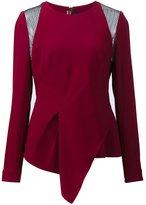 Roland Mouret 'Ebner' lace blouse - women - Elastodiene/Polyester/Acetate/Viscose - 40