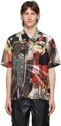 Our Legacy Multicolor Peace Crowd Short Sleeve Shirt