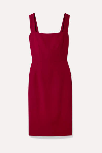 Dolce & Gabbana Cady Dress - Claret