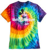 Disney Mickey Mouse Tie-Dye Tee for Adults - Walt World