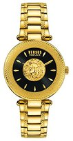 Versus By Versace Women's 'BRICK LANE' Quartz Stainless Steel Casual Watch, Color:Gold-Toned (Model: S64040016)