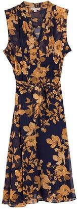 Nanette Lepore Floral Sleeveless Midi Dress