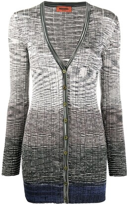 Missoni V-Neck Long Cardigan