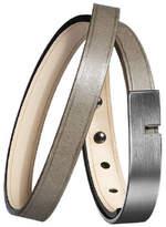 U-Turn Twice Gun Leather Bracelet 52365 steel