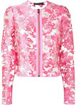 Versace sheer jacket - women - Polyester - 40