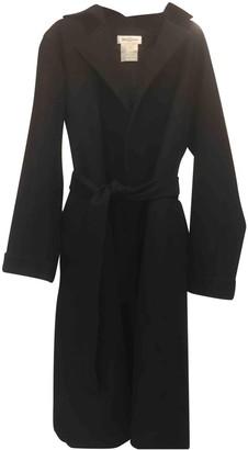 Balenciaga Black Wool Coat for Women Vintage