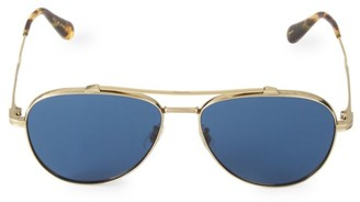Oliver Peoples RS20 Rikson 56MM Aviator Sunglasses
