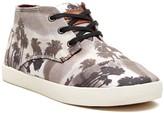 Toms Palm Tree Print Paseos Hi Top Sneaker