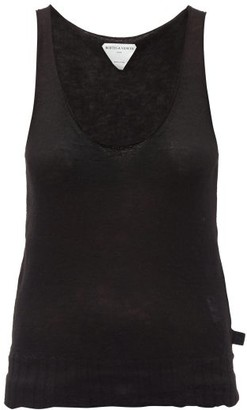 Bottega Veneta Scoop-neck Cashmere-blend Tank Top - Black