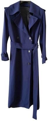 Acne Studios Blue Trench Coat for Women