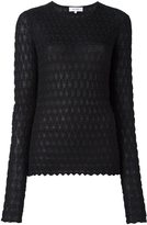 Carven textured knit jumper - women - Cotton/Polyamide/Polyester/Viscose - M