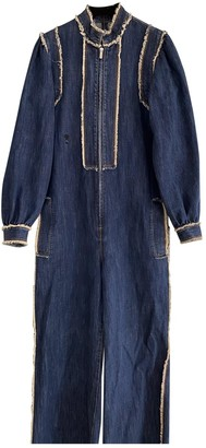 Christian Dior Blue Denim - Jeans Jumpsuit for Women