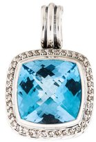 David Yurman Topaz & Diamond Albion Pendant