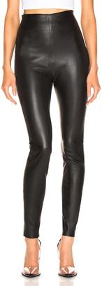 SABLYN Jessica Pants in Black Leather | FWRD