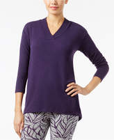 Alfani V-Neck Pajama Top, Created for Macy's