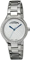 Stuhrling Original Women's 683.01 Symphony Swiss Quartz Crystal Dial Silver Watch