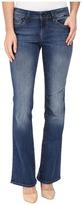 Mavi Jeans Ashley Mid-Rise Bootcut in Mid Indigo Gold