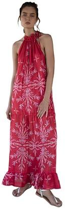 Sabina Musayev Muse Dress (Hibiscus Print) Women's Clothing