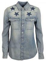 Givenchy Star Print Denim Shirt